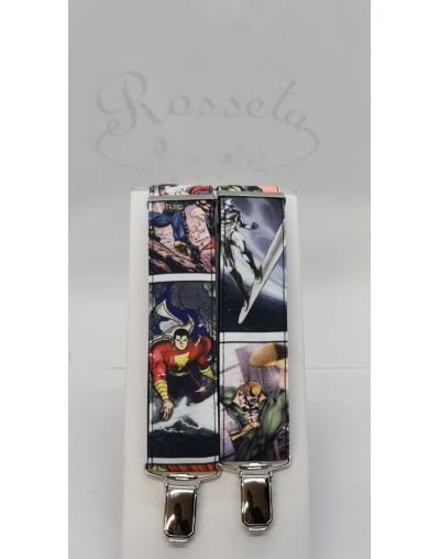 Conjunto flores azul tostado