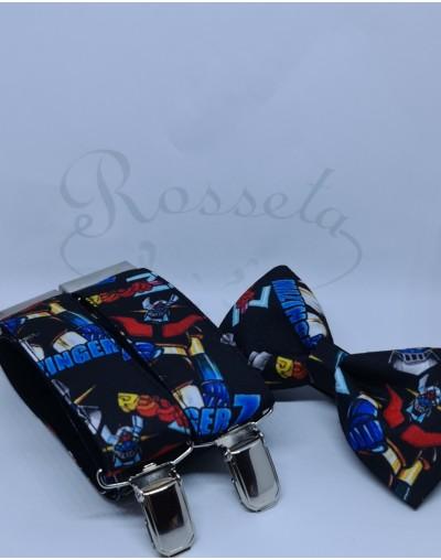Corbata punto azul marino