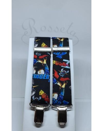 Corbata de punto naranja