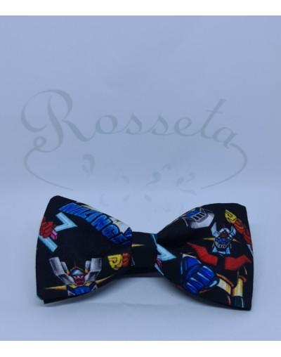 Corbata de punto azul eléctrico