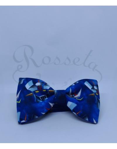 Corbata azul intermedio
