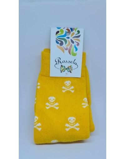Corbata azul intermedio trébol